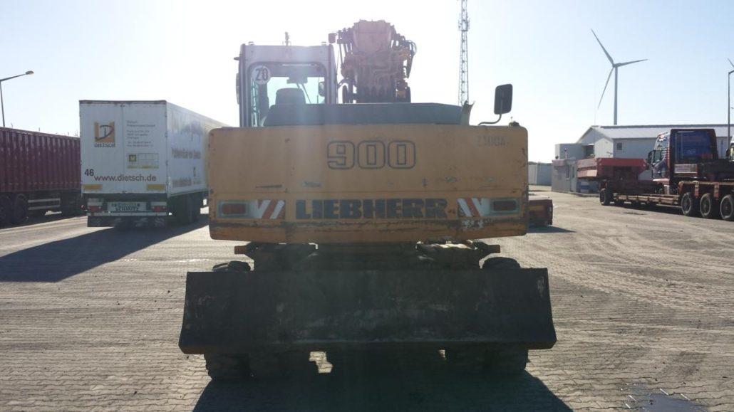 Wspaniały Wengrzyn | Koparka kołowa LIEBHERR A 900 LITRONIC IF55